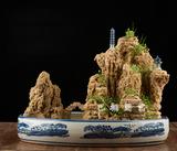吸水石盆景